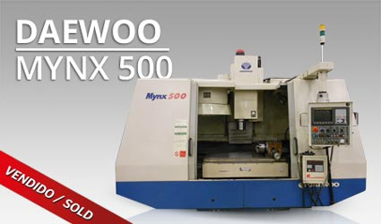 Centros mecanizado vertical - Daewoo Mynx 500