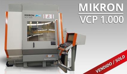 Centros mecanizado vertical - Mikron VCP 1000