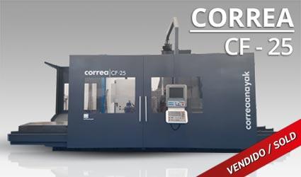 Fresadora Correa CF 25
