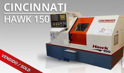 Tornos CNC - Cincinnati Hawk 150