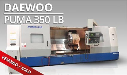 Tornos CNC - Daewoo Puma 350 LB