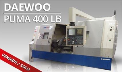 Tornos CNC - Daewoo Puma 400 LB