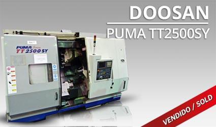 Tornos CNC - Doosan Puma TT2500SY