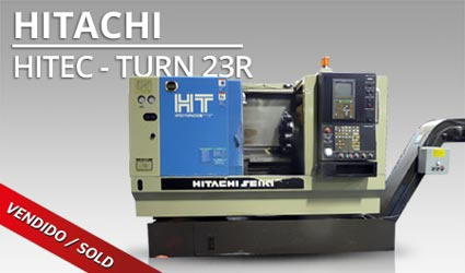 Tornos CNC - Hitachi Hitec-Turn 23R