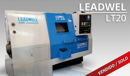 Tornos CNC - Leadwel LT20