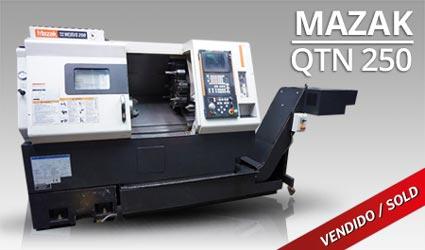 Tornos CNC -Mazak QTN 250