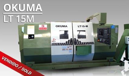 Tornos CNC - Okuma LT 15M