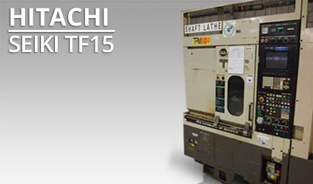 Tornos CNC - Hitachi Seiki TF15