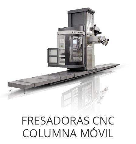 Maquinaria Usada : Fresadoras CNC Columna Móvil