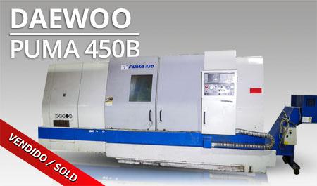 Tornos CNC- Daewoo Puma 450B