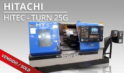 Tornos CNC - Hitachi Hitec-Turn 25G