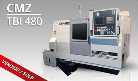 Tornos CNC - CMZ TBI 480