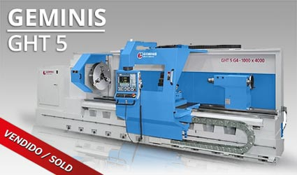 Tornos CNC - Geminis GHT5