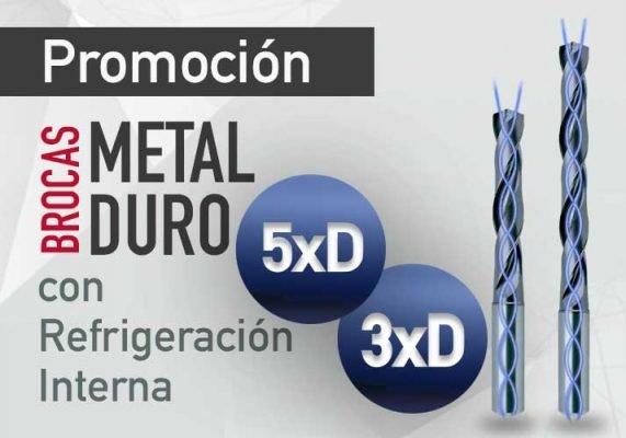 DESTACADO -PROMO- BrocasMetalRefrigerado-19W