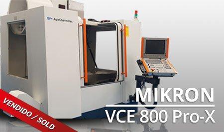 CMV Mikron VCE 800 Pro x